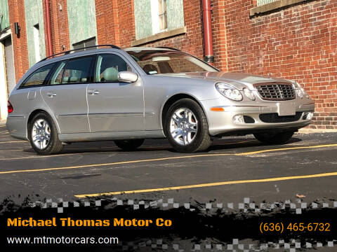 2004 Mercedes-Benz E-Class for sale at Michael Thomas Motor Co in Saint Charles MO