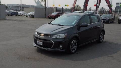 2017 Chevrolet Sonic for sale at Choice Motors in Merced CA