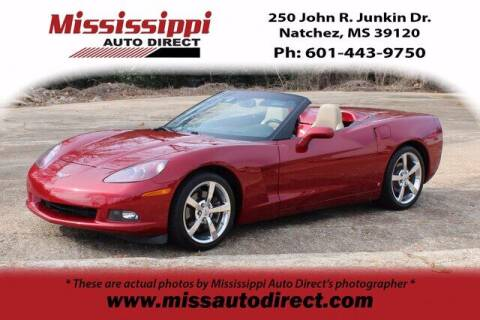 2008 Chevrolet Corvette for sale at Auto Group South - Mississippi Auto Direct in Natchez MS