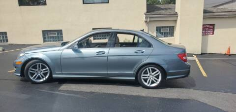 2012 Mercedes-Benz C-Class for sale at Auto Link Inc in Spencerport NY