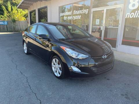 2013 Hyundai Elantra for sale at NO LIMIT MOTORSPORTS in Belmont NC
