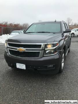 2015 Chevrolet Tahoe for sale at Ballard Street Auto in Saugus MA