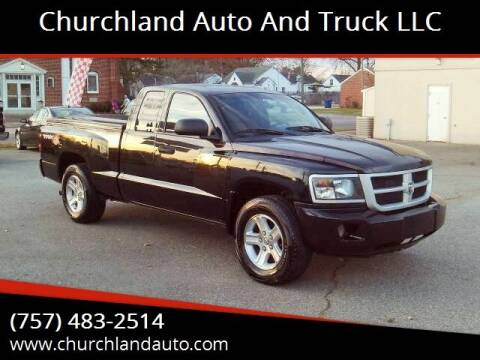 2011 RAM Dakota for sale at Churchland Auto and Truck LLC in Portsmouth VA