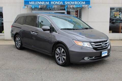 2014 Honda Odyssey for sale at MILLENNIUM HONDA in Hempstead NY