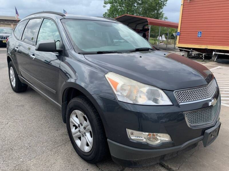 2012 Chevrolet Traverse for sale at JAVY AUTO SALES in Houston TX