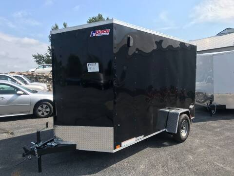 2021 Pace American 6x12 V-Nose Single 5K Axle for sale at Forkey Auto & Trailer Sales in La Fargeville NY