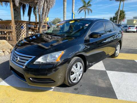 2014 Nissan Sentra for sale at D&S Auto Sales, Inc in Melbourne FL