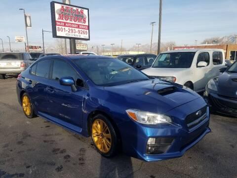 2015 Subaru WRX for sale at ATLAS MOTORS INC in Salt Lake City UT