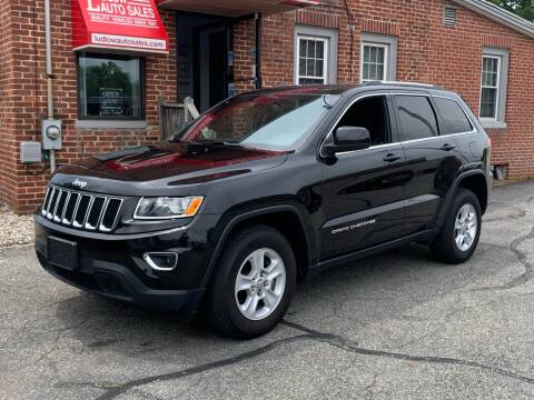 2015 Jeep Grand Cherokee for sale at Ludlow Auto Sales in Ludlow MA