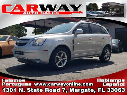 2013 Chevrolet Captiva Sport for sale at CARWAY Auto Sales in Margate FL