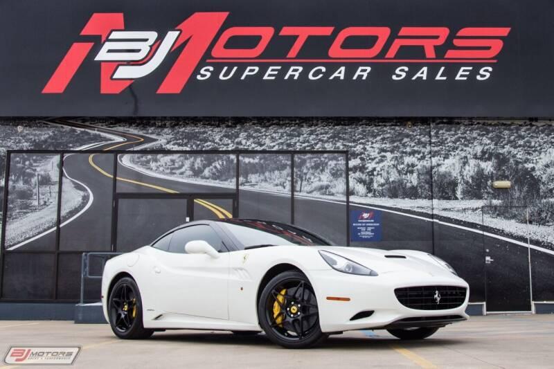 2010 Ferrari California for sale at BJ Motors in Tomball TX
