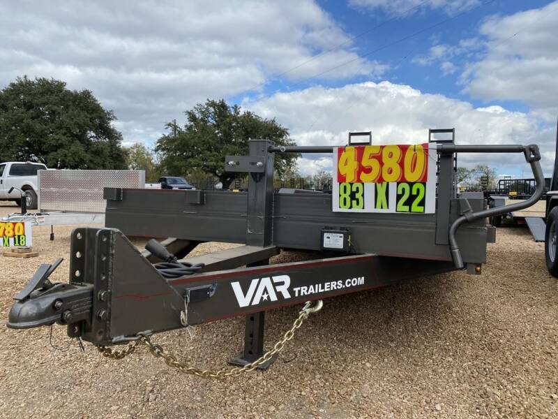"""2021 VAR - Equipment 83"""" X 22' - 1 for sale at LJD Sales in Lampasas TX"""