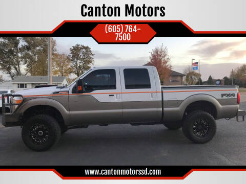 2014 Ford F-250 Super Duty for sale at Canton Motors in Canton SD