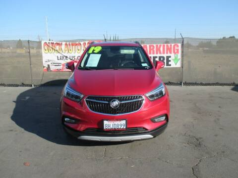 2019 Buick Encore for sale at Quick Auto Sales in Modesto CA
