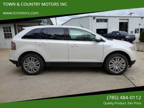 2010 Ford Edge for sale at TOWN & COUNTRY MOTORS INC in Meriden KS