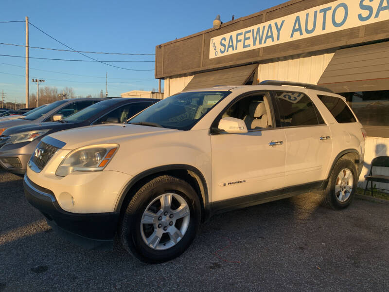 2008 GMC Acadia for sale at Safeway Auto Sales in Horn Lake MS