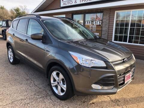 2015 Ford Escape for sale at Premier Auto & Truck in Chippewa Falls WI