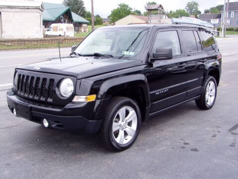 2014 Jeep Patriot for sale at The Autobahn Auto Sales & Service Inc. in Johnstown PA