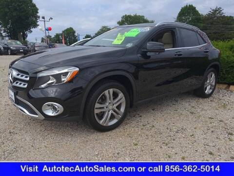2018 Mercedes-Benz GLA for sale at Autotec Auto Sales in Vineland NJ
