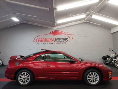 2000 Mitsubishi Eclipse for sale at Premium Motors in Villa Park IL