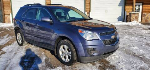 2013 Chevrolet Equinox for sale at Transmart Autos in Zimmerman MN