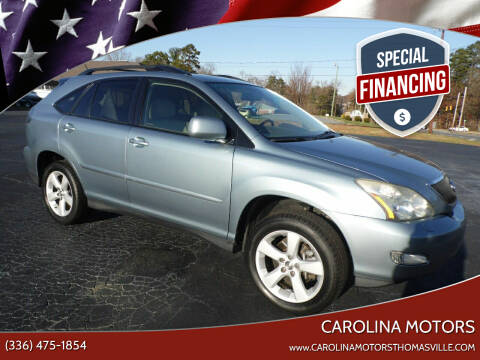 2007 Lexus RX 350 for sale at CAROLINA MOTORS in Thomasville NC