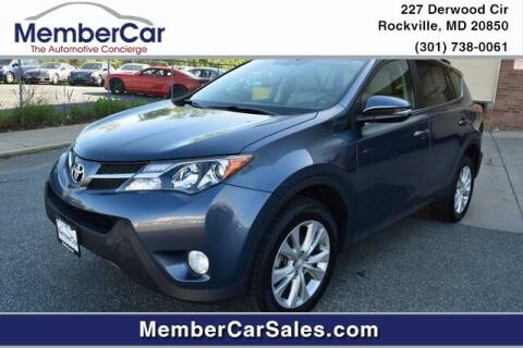 2014 Toyota RAV4 for sale at MemberCar in Rockville MD