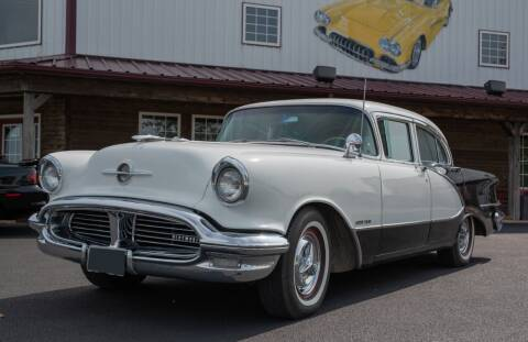 1956 Oldsmobile Ninety-Eight for sale at Gary Miller's Classic Auto in El Paso IL