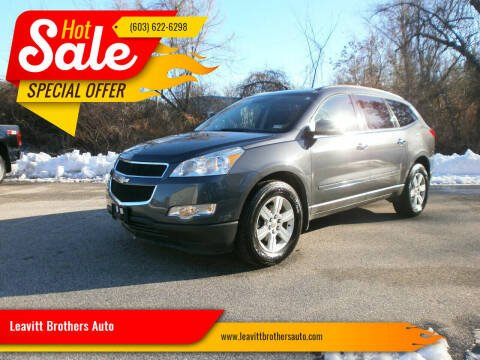 2011 Chevrolet Traverse for sale at Leavitt Brothers Auto in Hooksett NH