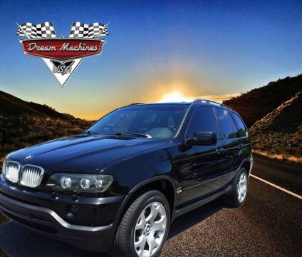 2001 BMW X5 for sale at Dream Machines USA in Lantana FL
