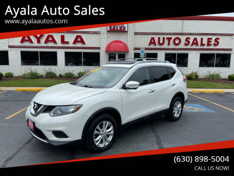 2015 Nissan Rogue for sale at Ayala Auto Sales in Aurora IL