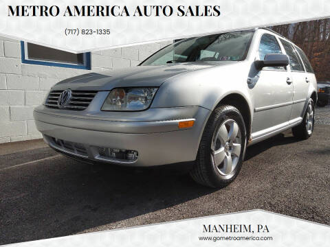 2004 Volkswagen Jetta for sale at METRO AMERICA AUTO SALES of Manheim in Manheim PA