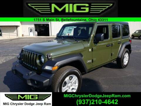 2021 Jeep Wrangler Unlimited for sale at MIG Chrysler Dodge Jeep Ram in Bellefontaine OH