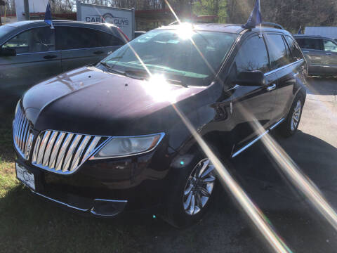 2011 Lincoln MKX for sale at Car Guys in Lenoir NC