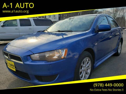 2010 Mitsubishi Lancer for sale at A-1 Auto in Pepperell MA