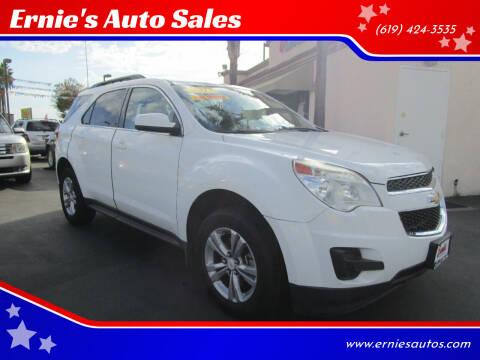 2013 Chevrolet Equinox for sale at Ernie's Auto Sales in Chula Vista CA