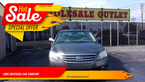 2006 Toyota Avalon for sale at LONG BROTHERS CAR COMPANY in Cleveland OH