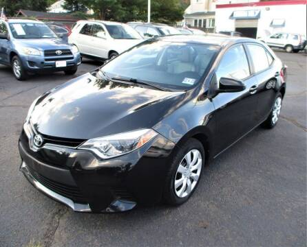 2014 Toyota Corolla for sale at Exem United in Plainfield NJ