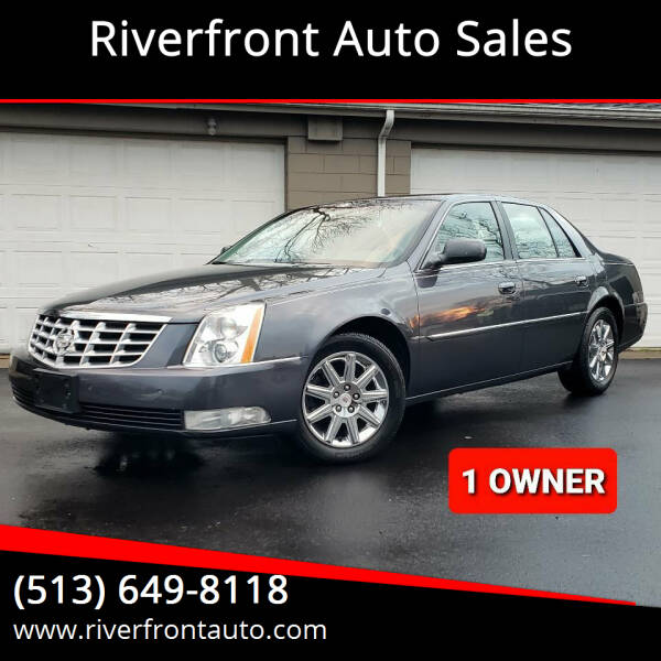 2009 Cadillac DTS for sale at Riverfront Auto Sales in Middletown OH