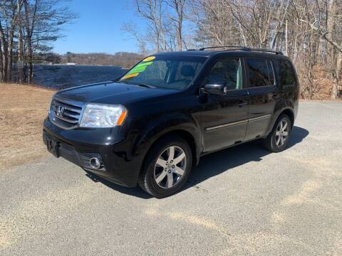 2012 Honda Pilot for sale at Elite Pre-Owned Auto in Peabody MA