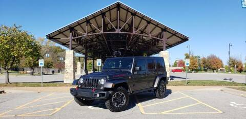 2016 Jeep Wrangler Unlimited for sale at D&C Motor Company LLC in Merriam KS