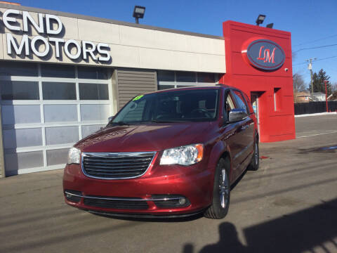 2013 Chrysler Town and Country for sale at Legend Motors of Detroit in Detroit MI