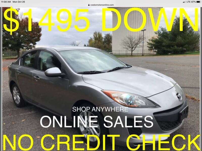 2012 Mazda MAZDA3 for sale at Cooks Motors in Westampton NJ