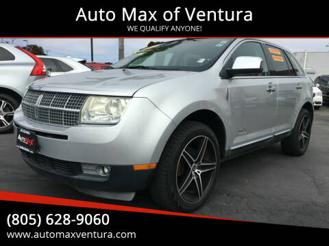 2009 Lincoln MKX for sale at Auto Max of Ventura in Ventura CA