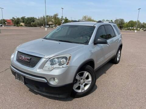 2012 GMC Acadia for sale at DR Auto Sales in Glendale AZ