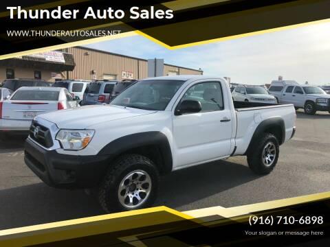 2014 Toyota Tacoma for sale at Thunder Auto Sales in Sacramento CA