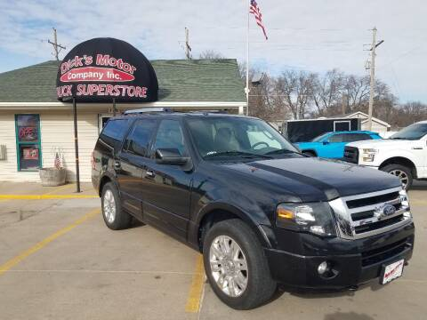 2013 Ford Expedition for sale at DICK'S MOTOR CO INC in Grand Island NE
