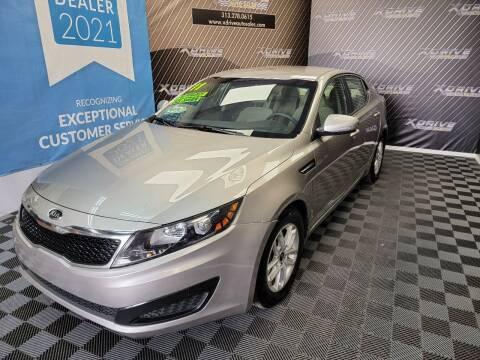 2011 Kia Optima for sale at X Drive Auto Sales Inc. in Dearborn Heights MI
