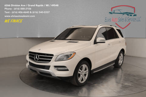 2012 Mercedes-Benz M-Class for sale at Elvis Auto Sales LLC in Grand Rapids MI