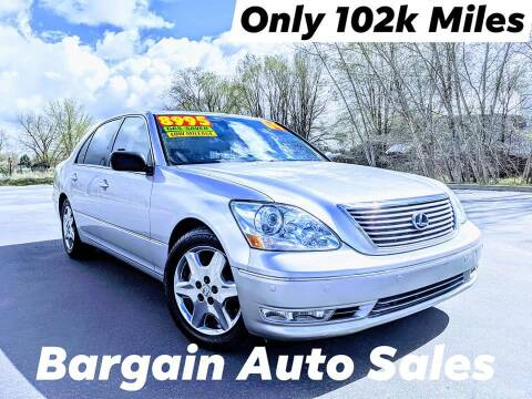 2004 Lexus LS 430 for sale at Bargain Auto Sales LLC in Garden City ID